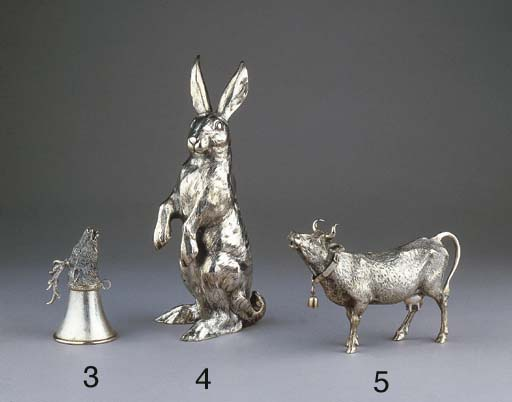 A German silver hare