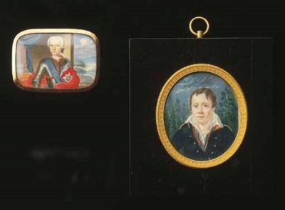Two portrait miniatures