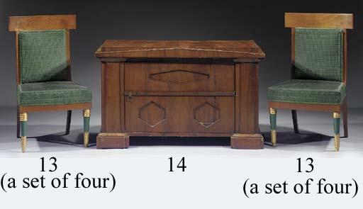 A North German mahogany chest