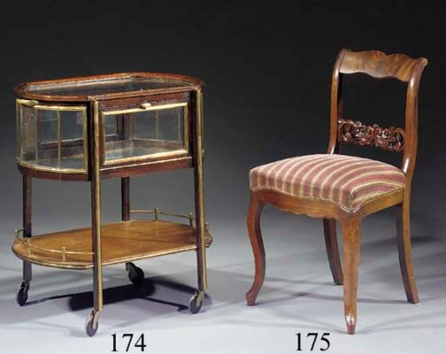 A set of six Dutch Biedermeier
