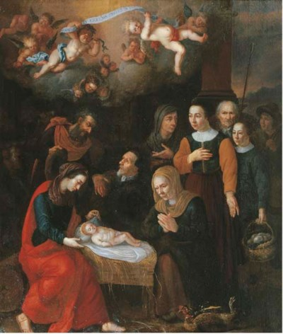 Circle of Abraham Bloemaert (1