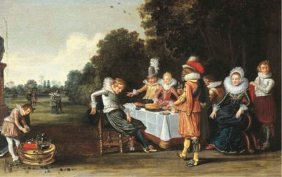 Circle of Esaias van den Velde