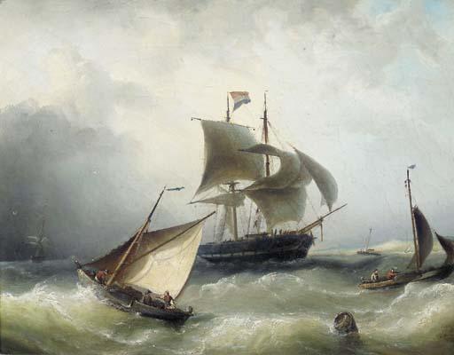 Nicolaas Riegen (Dutch, 1827-1