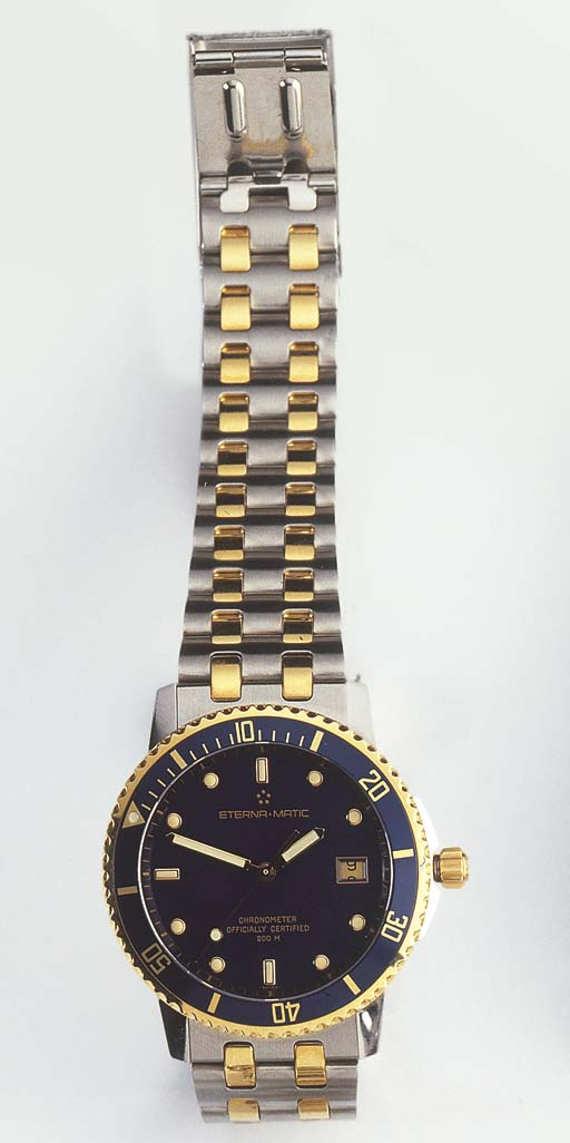 ETERNA. A STAINLESS STEEL AND
