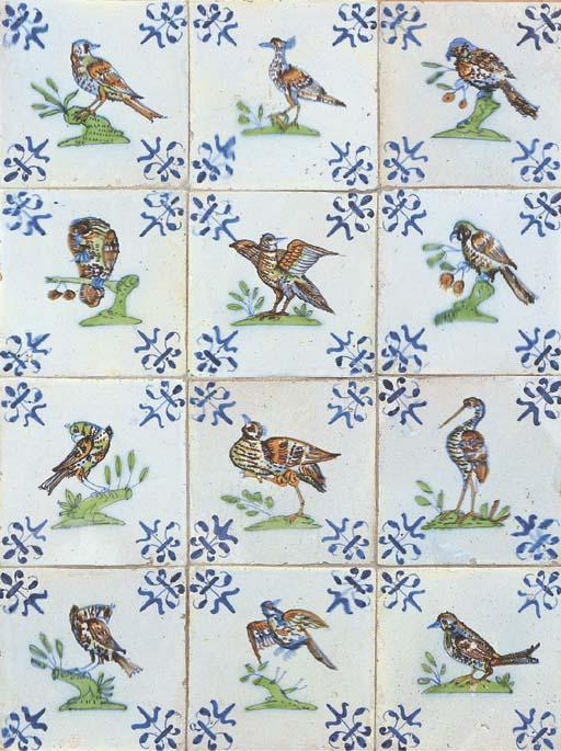 A Dutch polychrome ornithologi