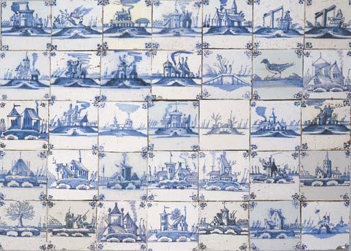 A large series of Dutch blue a