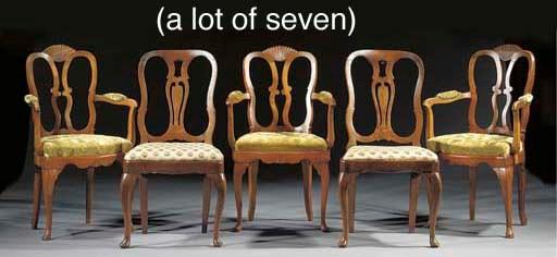 A lot of seven various Dutch e