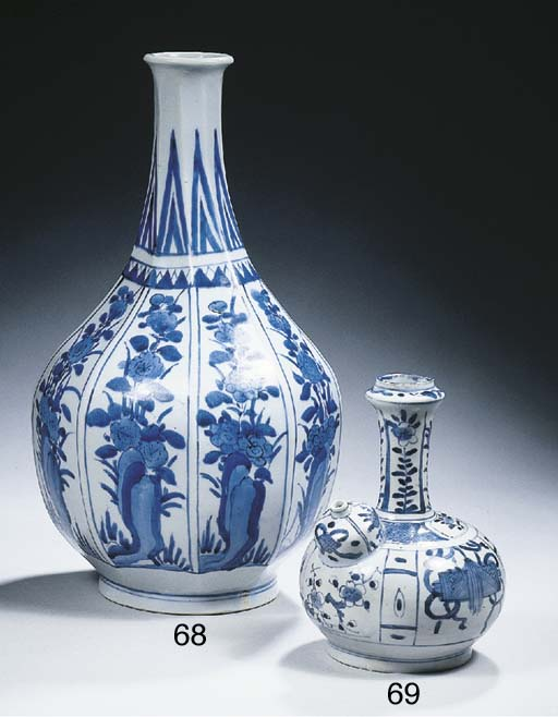 An Arita blue and white 'kraak