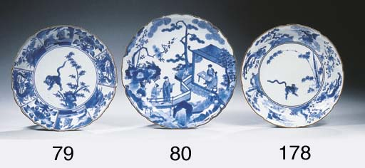 A Kakiemon and a Nabeshima blu