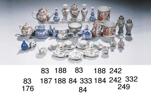 An assorted lot of rare Imari