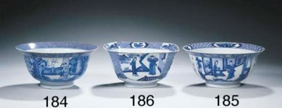 A blue and white 'Klapmuts' bo