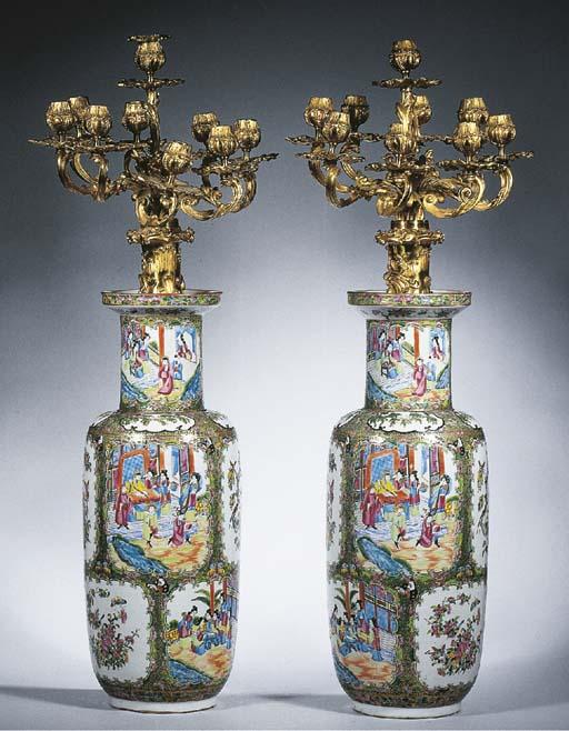 A pair of ormolu-mounted Canto