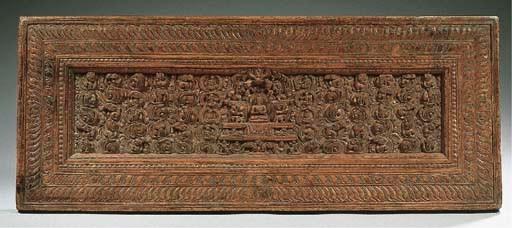 a tibetan wooden manuscript co