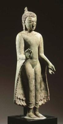 a burmese, pagan style, bronze