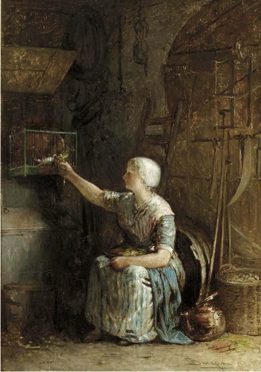 Hendricus Johannes Burgers (Dutch, 1834-1899)