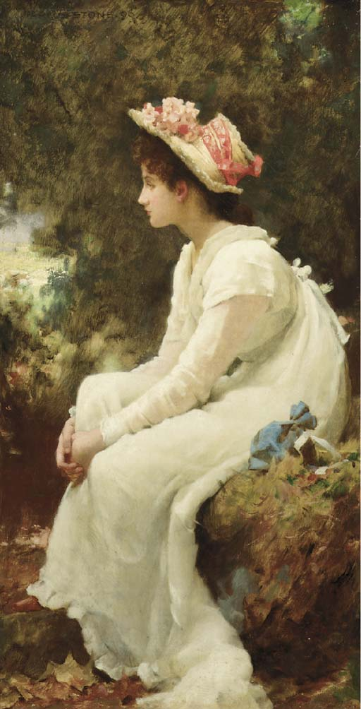 Marcus Stone (British, 1840-19