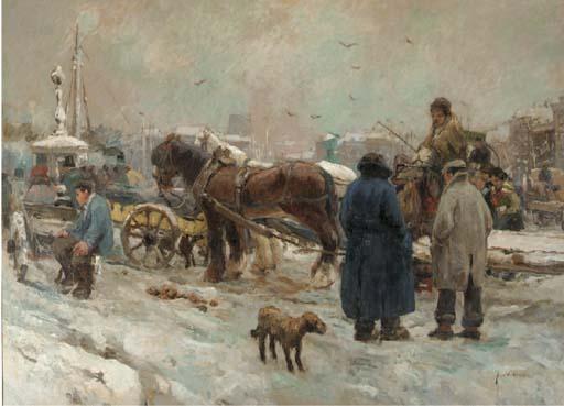 August Willem van Voorden (Dutch, 1881 - 1921)