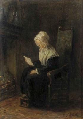 Jozef Israels (Dutch, 1824-191
