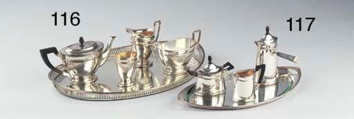 A Dutch silver three-piece moc