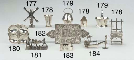A miniature silver