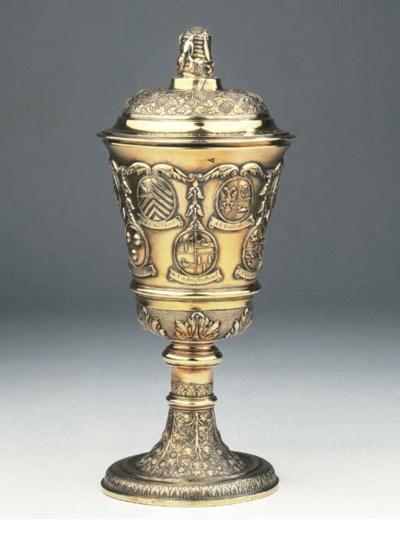 An important dutch silver-gilt