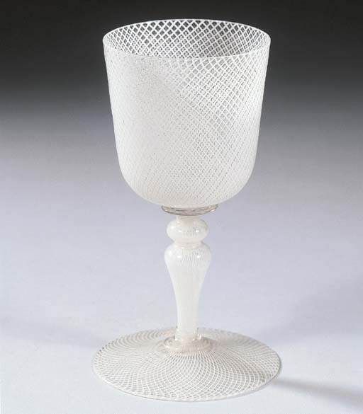 A Venice filigrana goblet