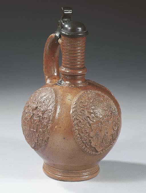 A Raeren Jan Emens stoneware d