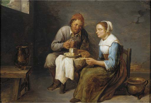 Gillis van Tilborch (c.1625-16
