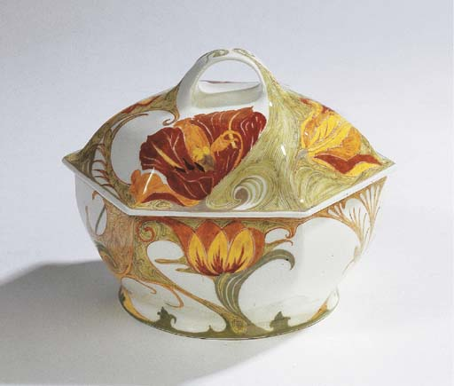 An egg-shell porcelain box and