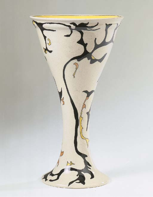 Spichtig, a glazed pottery vas