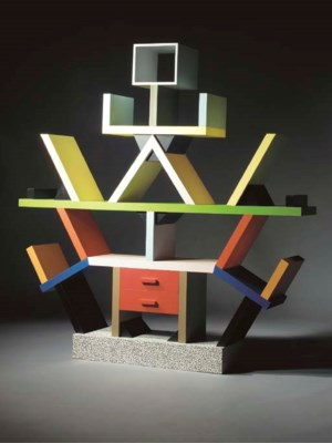 Carlton, a lacquered bookcase