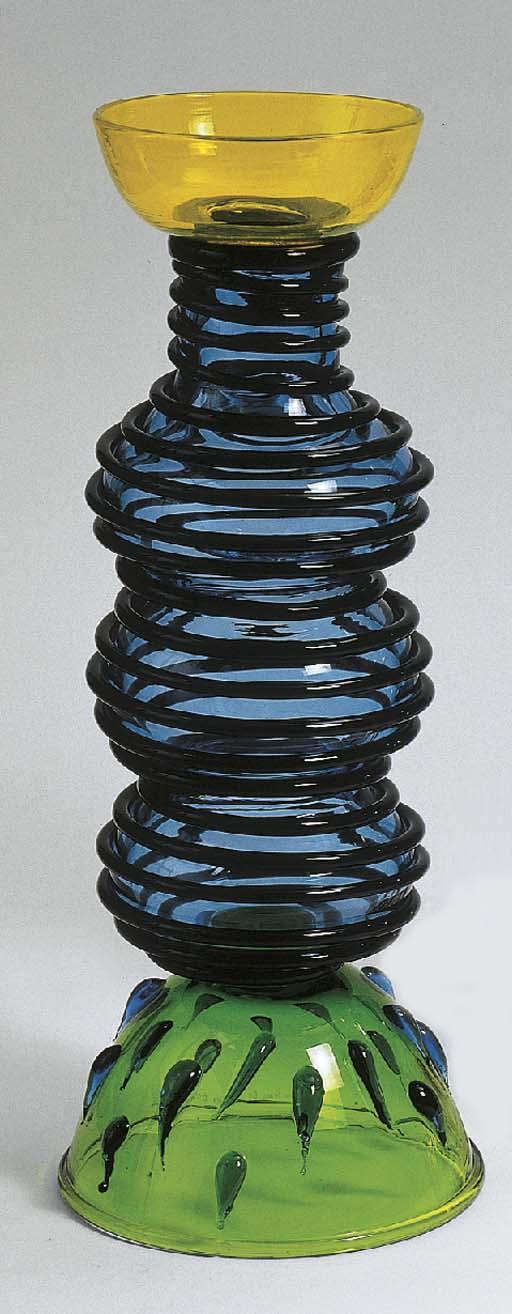 Alioth, a glass vase