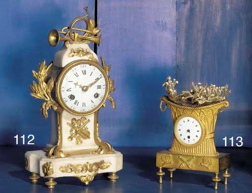 A French ormolu-mounted and wh
