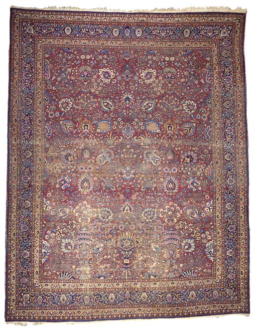 A Mashad carpet of savafid des