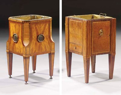 Two Dutch mahogany and fruitwo