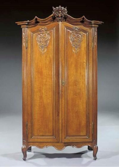 A Liege oak cupboard