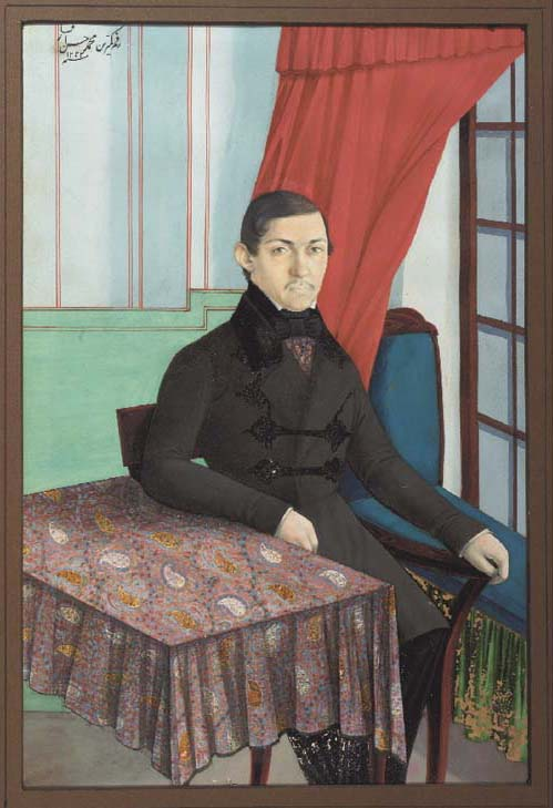 PORTRAIT OF A EUROPEAN GENTLEM