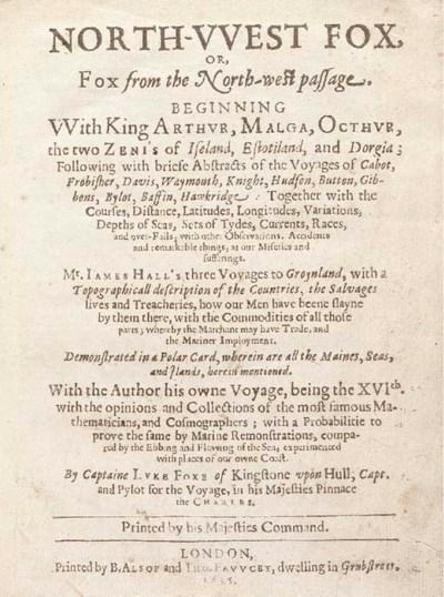 Luke Foxe (or Fox) (1586-1635)