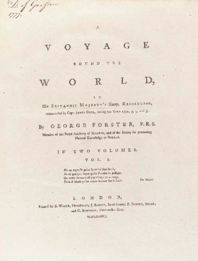 Johann Georg Adam Forster (175