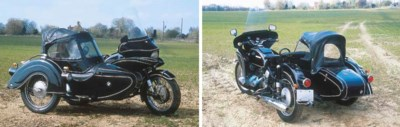 c. 1960 BMW R69S MOTORCYCLE CO
