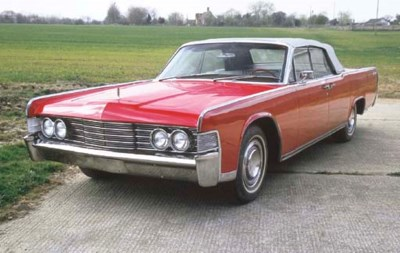 1965 LINCOLN CONTINENTAL 4-DOO