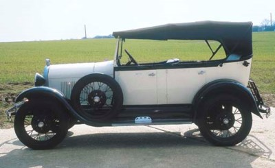 1930 FORD MODEL A FOUR SEAT PH
