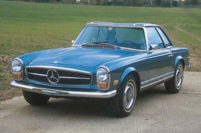 1970 MERCEDES-BENZ 280 SL ROAD