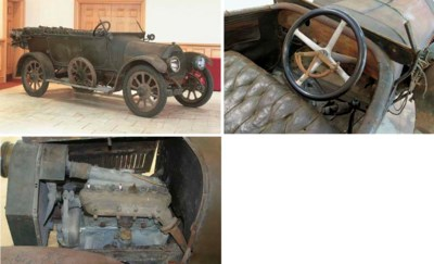 1912 HUMBER 14HP FOUR SEATER T