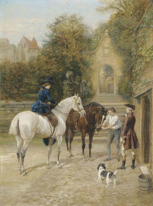 Heywood Hardy (1843-1933)