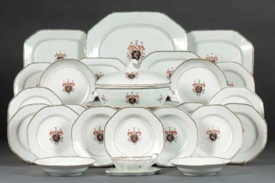 A FAMILLE ROSE ARMORIAL PART D