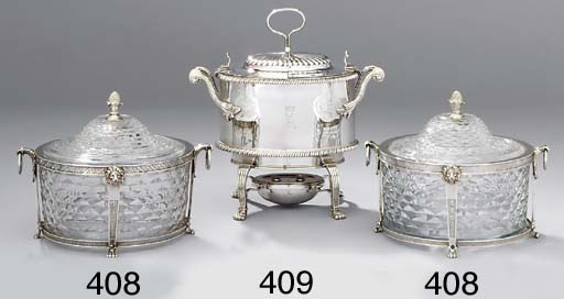 A George III silver egg-boiler