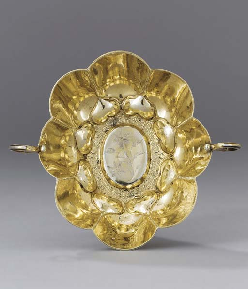 A German silver-gilt sweetmeat