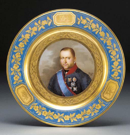 A Naples Royal portrait docume