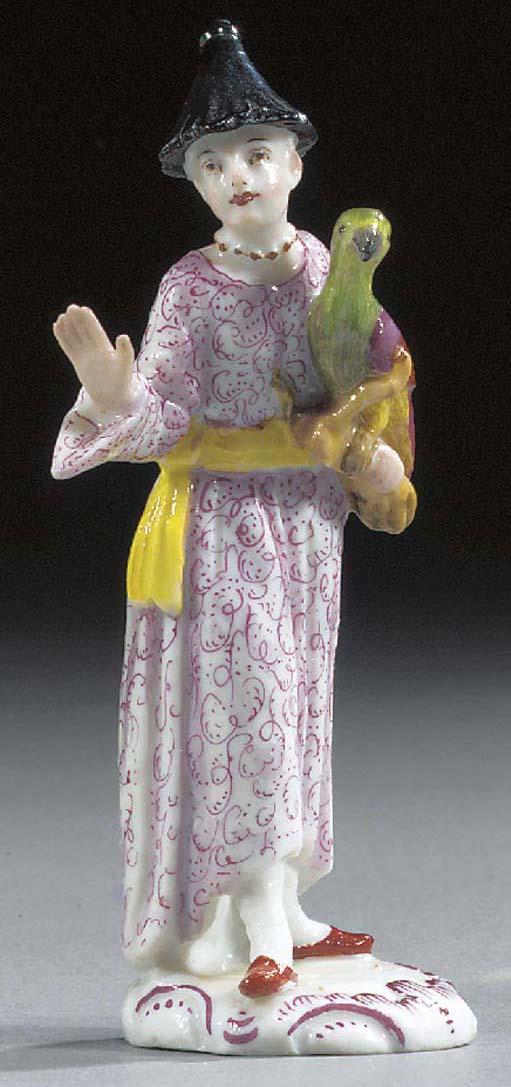 A Fürstenberg figure of Chines